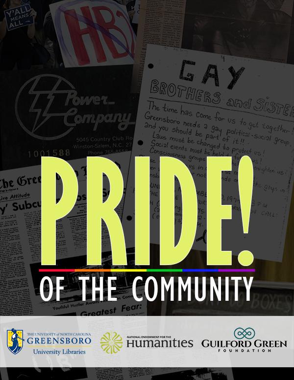 PRIDE! of the Community